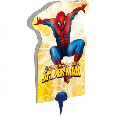Spiderman-Tårtfontän