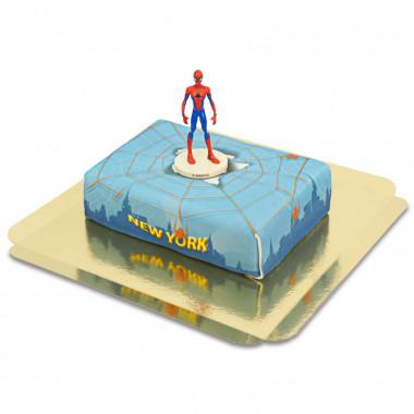 Spiderman på New York-tårta