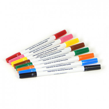 Tårtpennor- olika färger