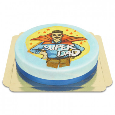 Superpappa-tårta