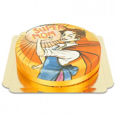 Gul Supermamma-tårta