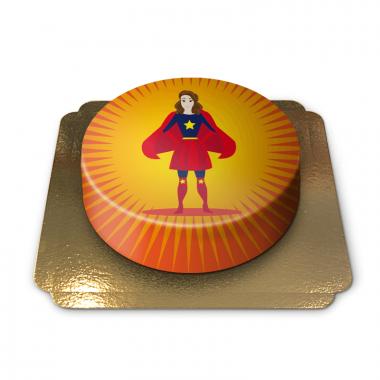 Superkvinnan, tårta
