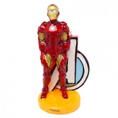 Iron-Man-Tårtljus
