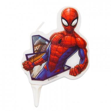 Spiderman-Tårtljus