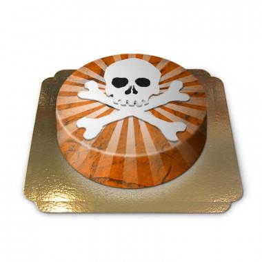 Dödskalle tårta