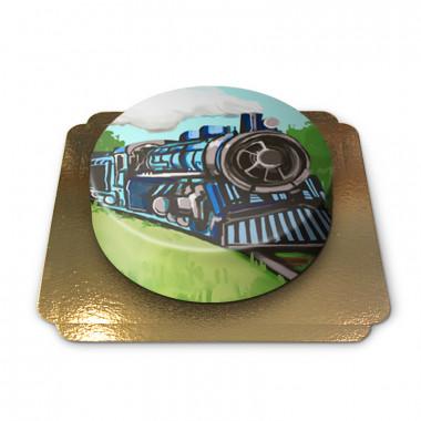 Lokomotivtårta