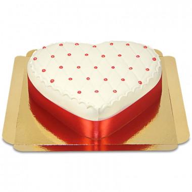 Deluxe Alla Hjärtans Dag-tårta, Röd