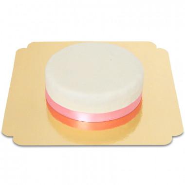 Tårta med silkesband