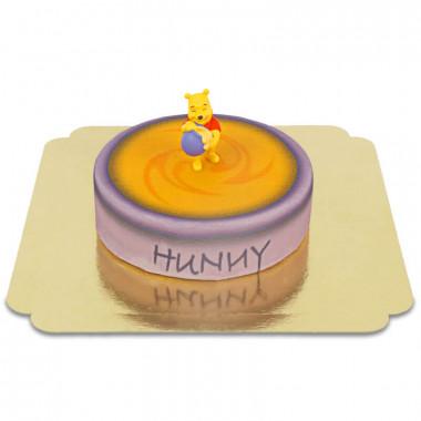 Nalle Puh på honungsburktårta