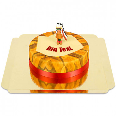 Yakari på prärien tårta