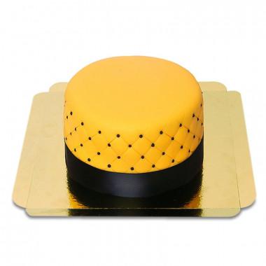 Gul Deluxe tårta