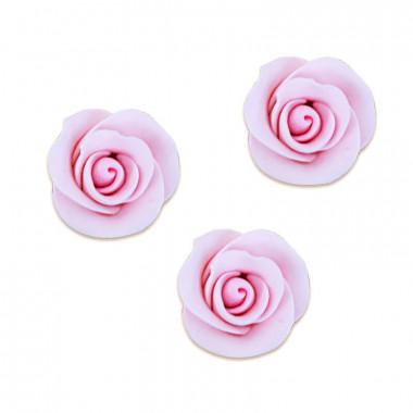 Sockerros, rosa (3 st)