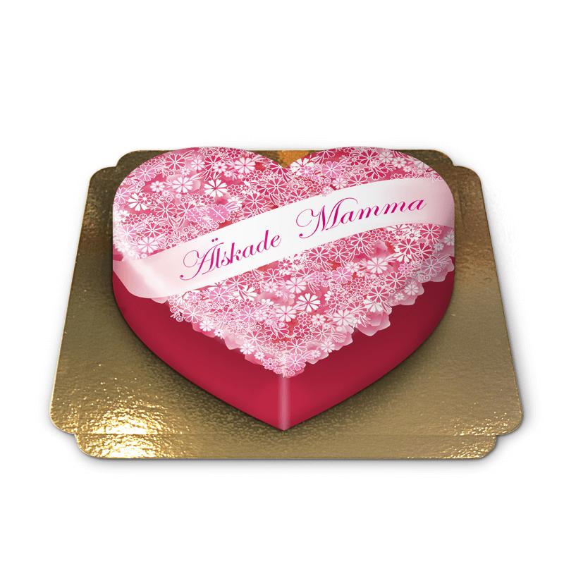 Älskade Mamma, mors dag Tårta