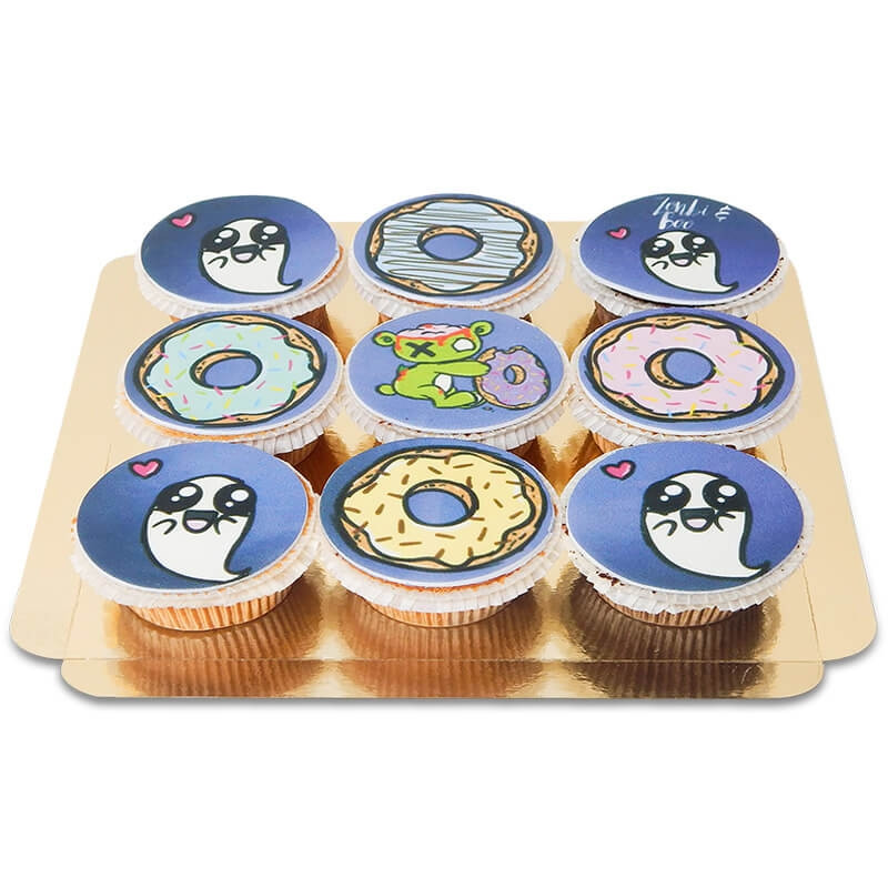 Zonbie & Boo cupcakes