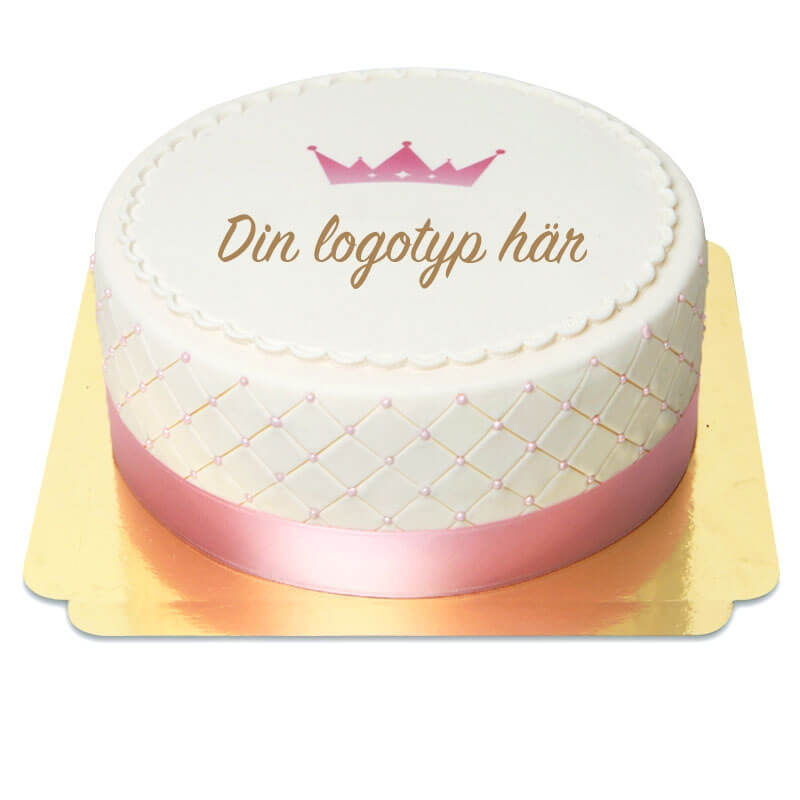 Deluxe Logotyptårta