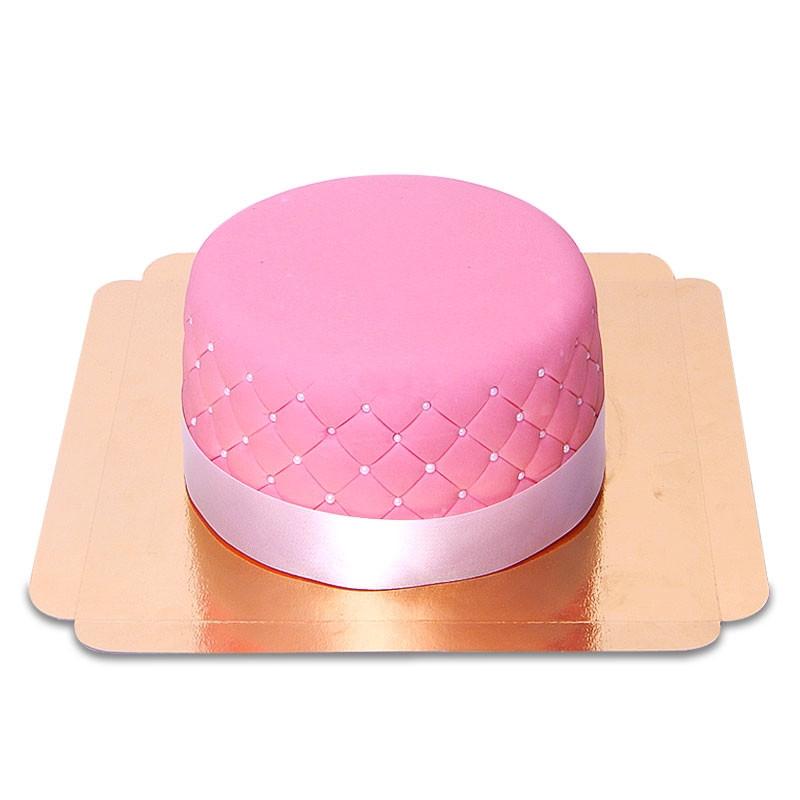 Pinke Deluxe Torte 18 cm