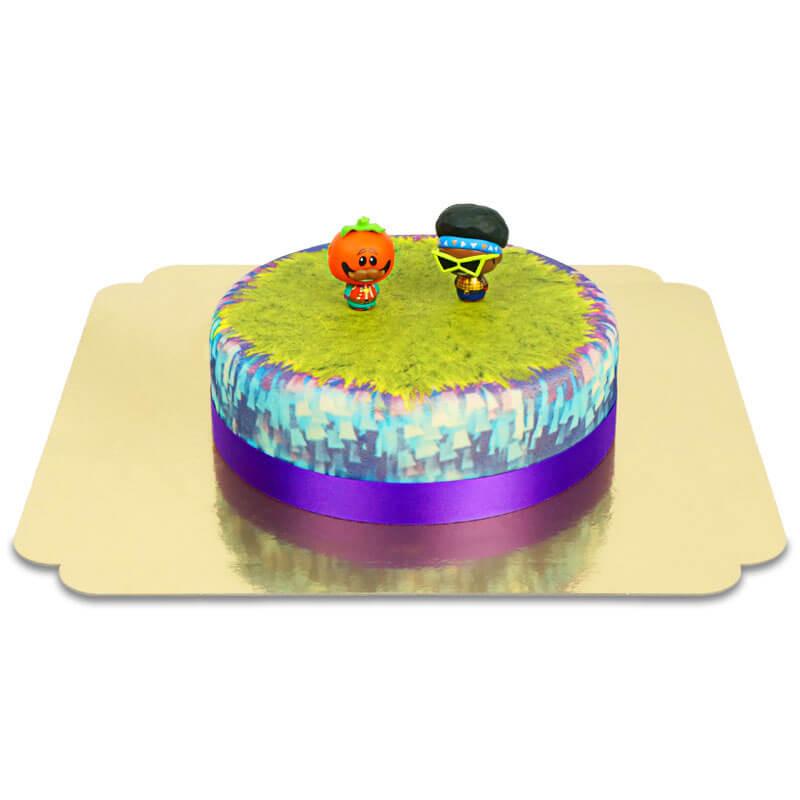 Fortnite - Funk Ops & Tomatohead auf Torte