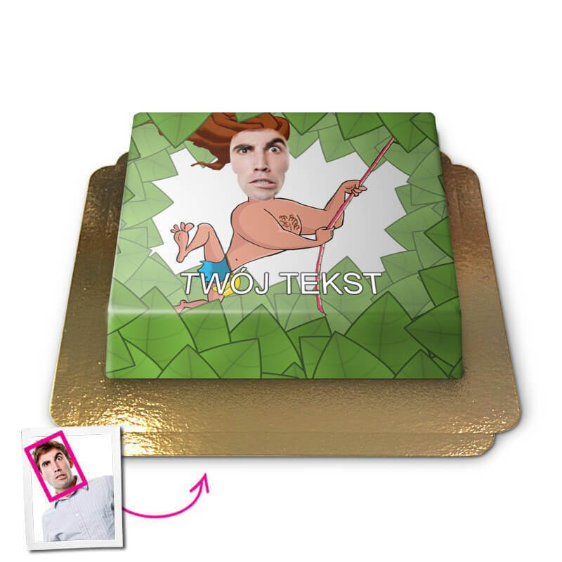 Tort Face-Cake - Tarzan