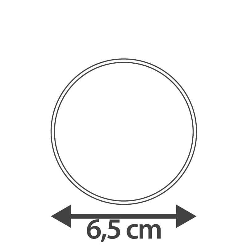 Logo-Keks, Rund (12 Stück)