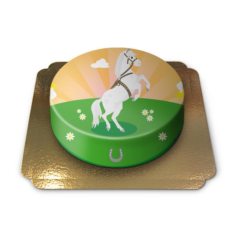 Tort z koniem