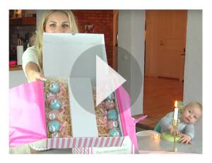 Video: Kundvideo på tårtor och cake pops!