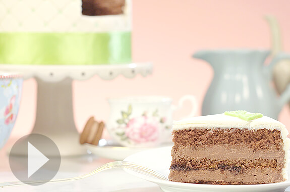 Chokoladbottnar med Chokladcreme